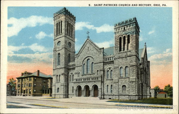 St. Patrick's Church and Rectory Erie Pennsylvania
