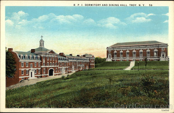 RPI Dormitory and Dining Hall Troy New York Dormitories