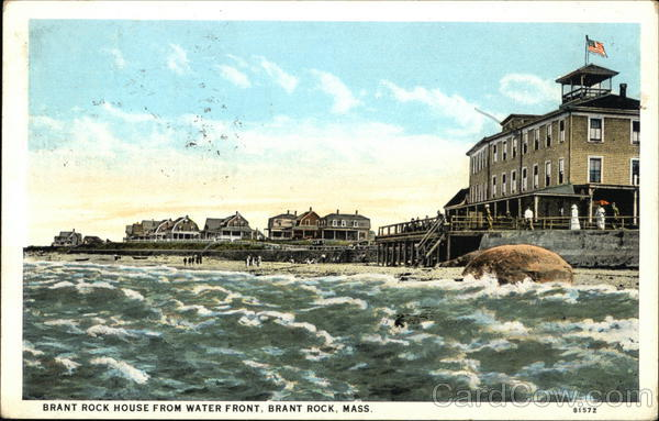 Brant Rock House from Waterfront Massachusetts