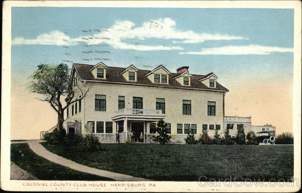 Colonial Country Club House Harrisburg Pennsylvania