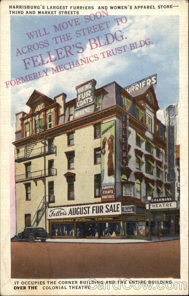 Feller's - Harrisburg's Largest Furriers and Women's Apparel Store Pennsylvania