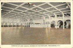 Interior of New Casino, Rhodes-On-The-Pawtuxet