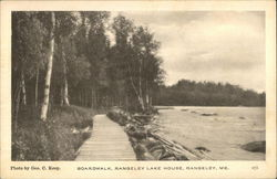 Boardwalk, Rangeley Lake House