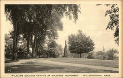 Williams College Campus at Soldiers Monument