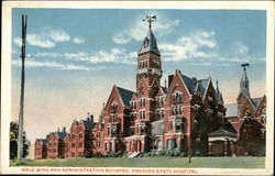 Male Wing and Administration Building, Danvers State Hospital
