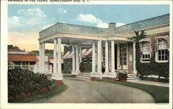 Entrance to the Casino Postcard