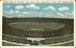 Football Game at Yale Bowl