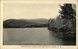 Monadnock Lake and Mountain