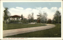 Greeley Park and Band Stand