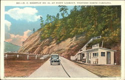 N.C. Highway No. 10 at Point Lookout, Western North Carolina