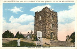 Observatory and Government Weather Station, Mt. Mitchell
