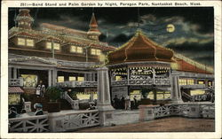 Band Stand and Palm Garden by Night, Paragon Park