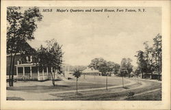 Major's Quarters and Guard House, Fort Totten