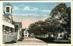 Central Avenue, Juniper Point, Salem Willows