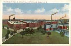 Factories of the L. S. Starrett Company