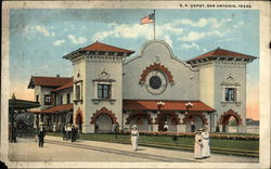 Southern Pacific Depot Postcard