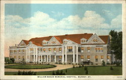 William Mason Memorial Hospital Postcard