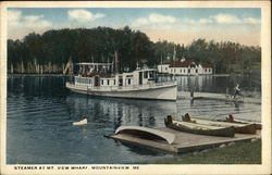 Steamer at Mt. View Wharf
