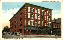 Hotel Dudley, Gateway to Allegheny State Park