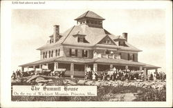 The Summit House, On Top of Wachusett Mountain