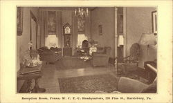 Reception Room, Penna. W.C.T.U. Headquarters, 220 Pine St.