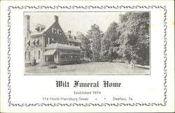 Wilt Funeral Home, Established 1874
