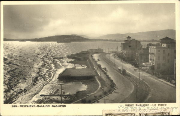 The Old Phalerium Piraeus Greece Greece, Turkey, Balkan States