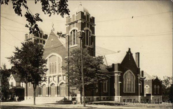 Large Brick Church Buildings