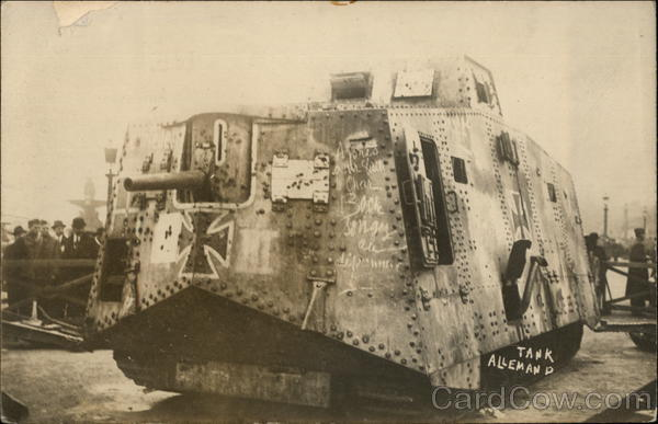 Tank Allemand World War I