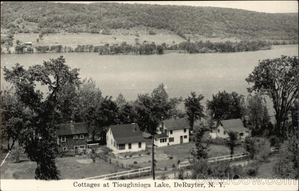 Cottages at Tioghnioga Lake DeRuyter New York