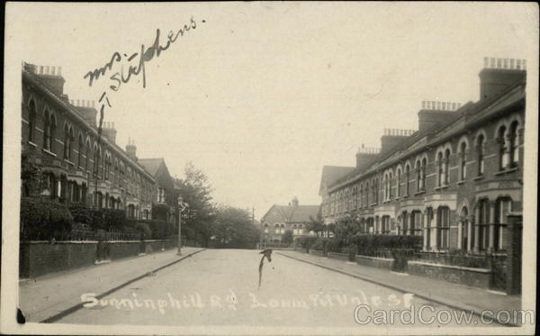 Sunninghill Road Lewisham England London