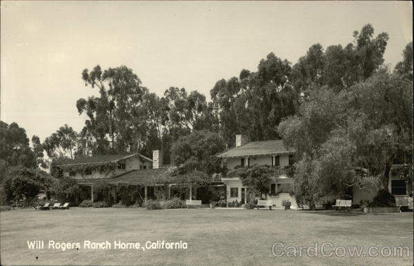 Will Rogers Ranch Home Los Angeles California