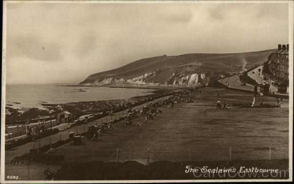 View of the Sealawns Eastbourne England Sussex