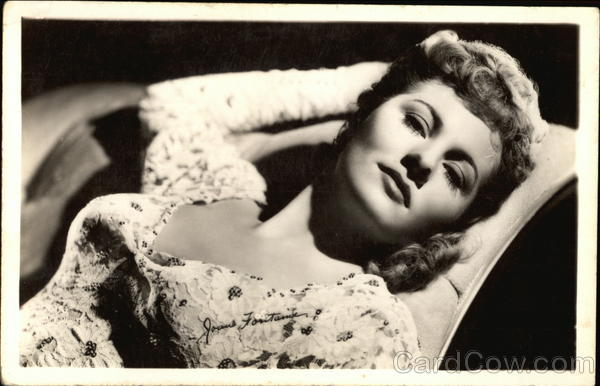 Joan Fontaine Actresses