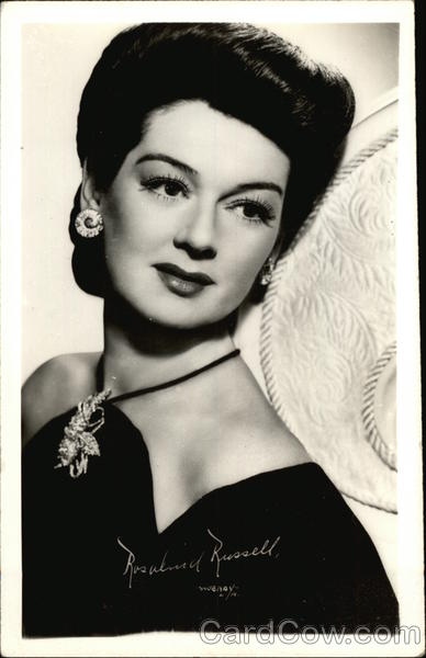 Rosalind Russell Actresses