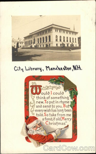 City Library Manchester New Hampshire