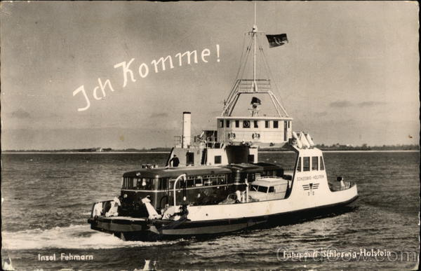 Ich Komme! (I'm Coming) Ferries