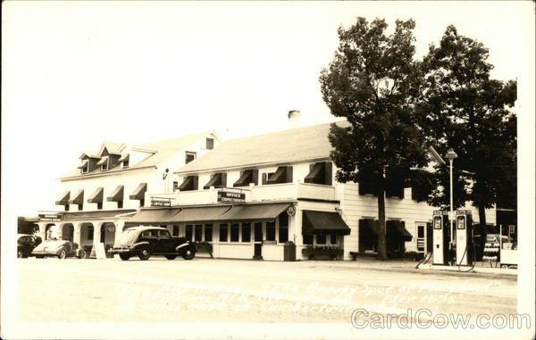 Town Hill Hotel, Esso Gas, Coffee Shop Cumberland Maryland