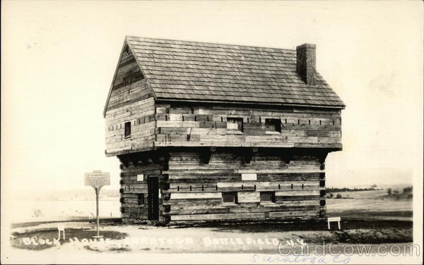 Old Saratoga Battlefield Blockhouse
