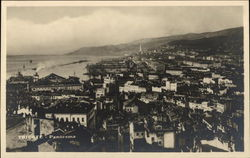 Panoramic View of Trieste