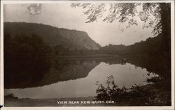 View of Lake Near New Haven Postcard