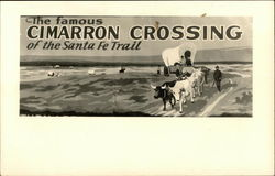 The Famous Cimarron Crossing of the Santa Fe Trail