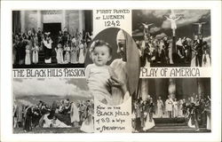 The Black Hills Passion Play of America Postcard