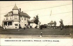Residence of Lester L. Wills