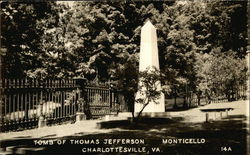 Tomb of Thomas Jefferson at Monticello