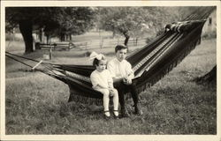 Two Children in Swing (Edith & Ralph)