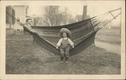 Edith Benedict on Hammock