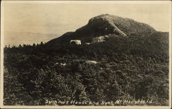 Summit House and Nose, Mt. Mansfield
