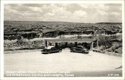 Observation Point, Pecos River Canyon Postcard