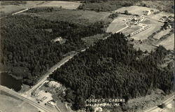 Aerial View of Moody's Cabins
